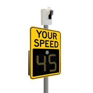 Guardian Speed Camera And Radar Speed Sign