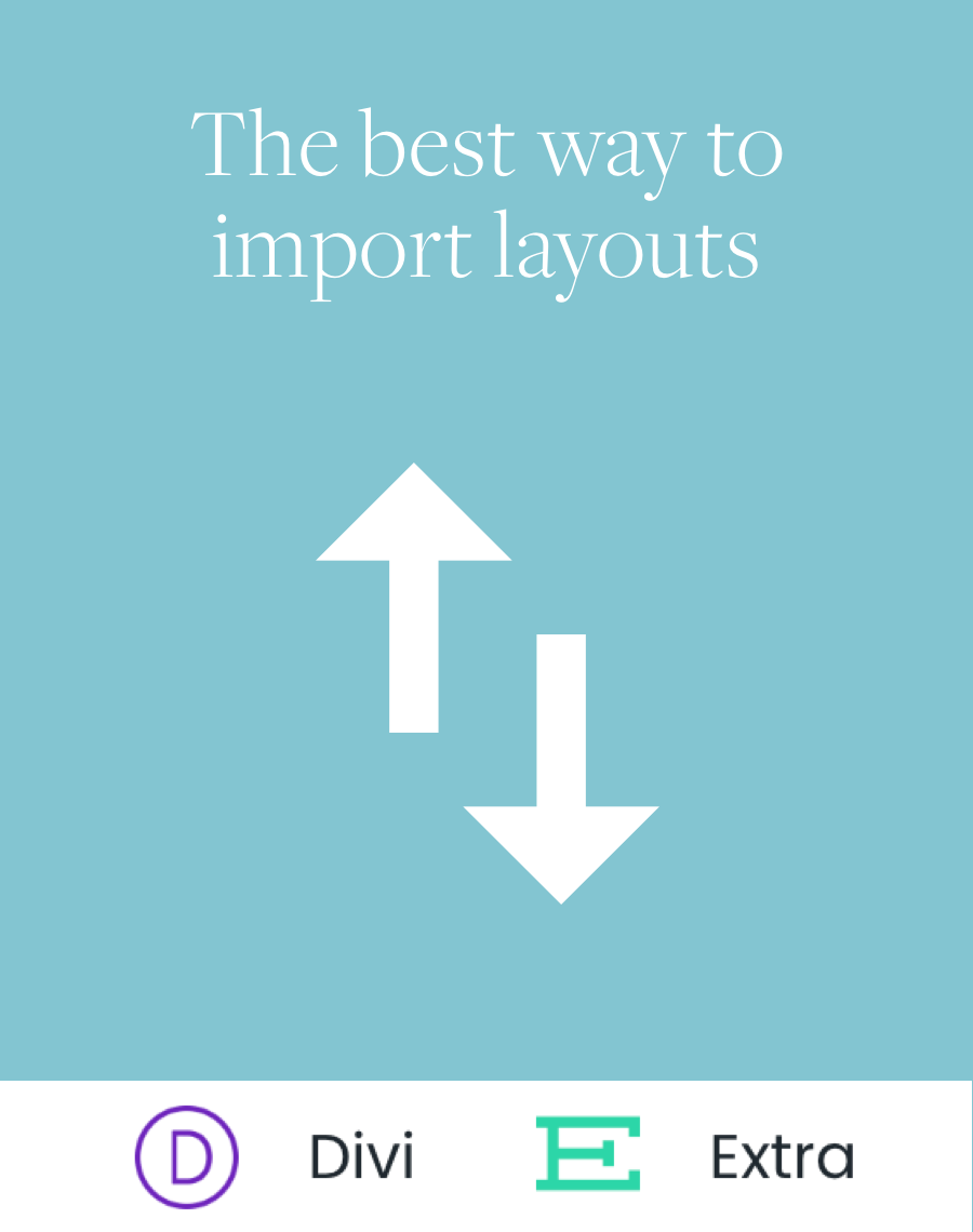 Import Divi Layouts in 2 Easy Steps - Diamond Base