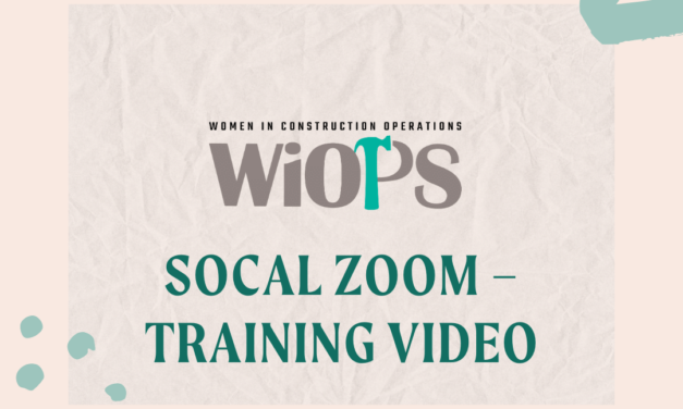 SoCal Zoom – Training Video