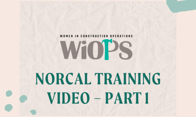 NorCal Training Video – Part 1