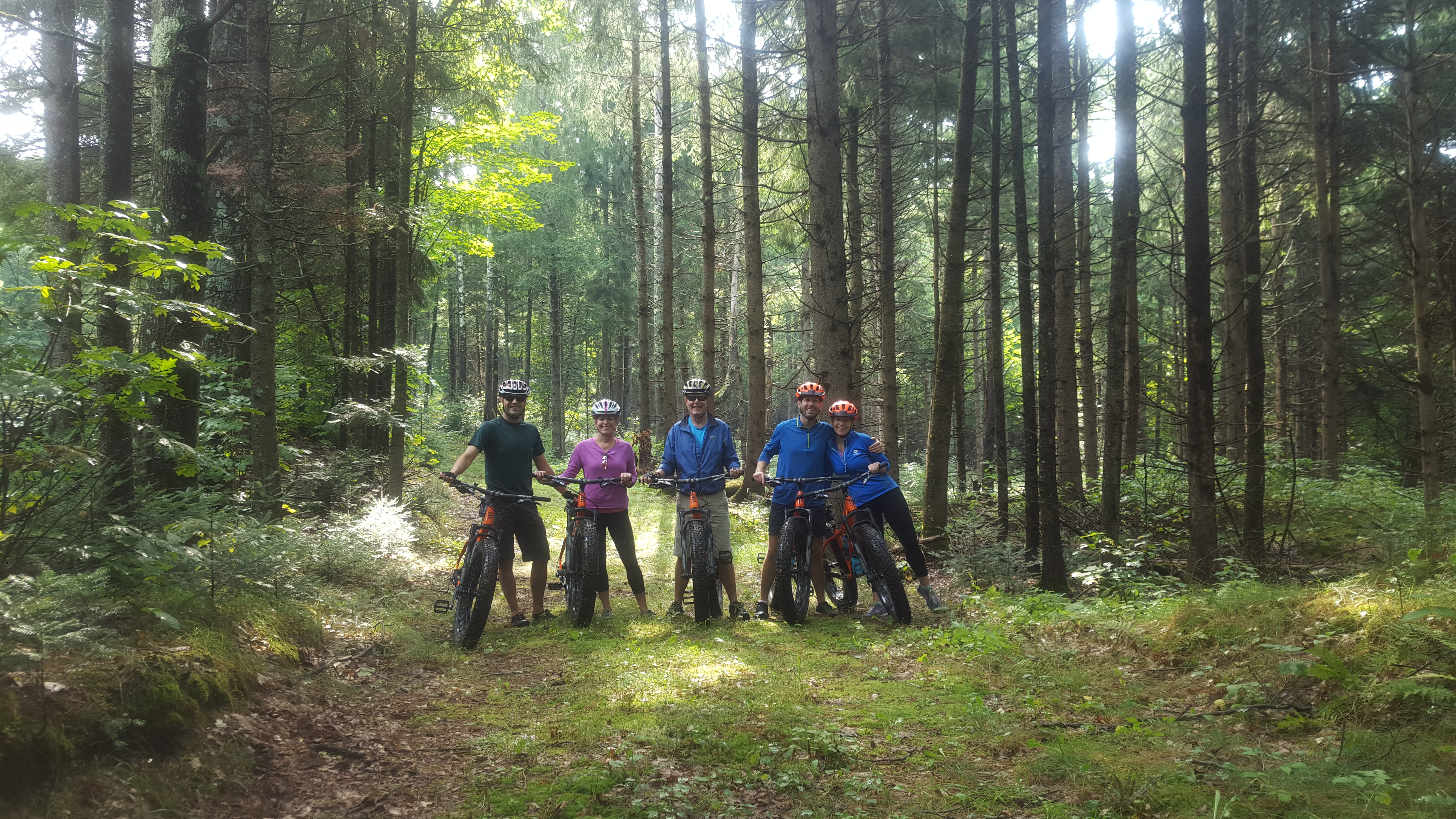 Family FATbike Guided Tour