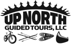 Fat Bike and Snowshoe Guided Tour Logo: Up North Guided Tours