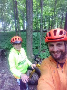 Fatbike with our Kids