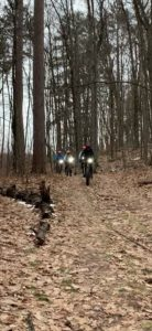Family enjoying the outdoors on FATbike in early-Winter '20.