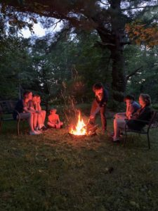 Campfires are a part of Northwoods life and our guided tours!