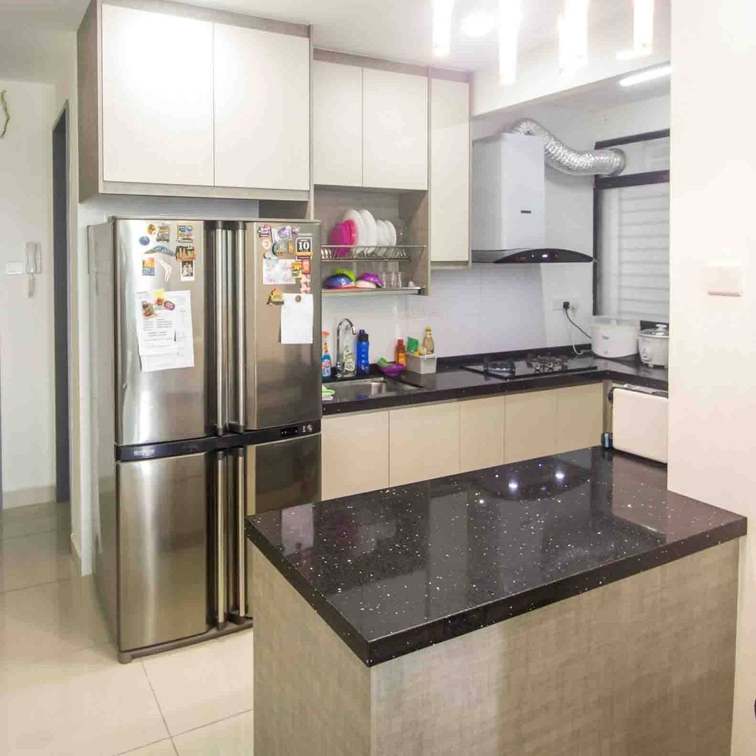 Idea Kabinet Dapur Apartment Ba Li Kitchen Cabinet