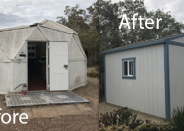 Tuff Sheds for River Haven