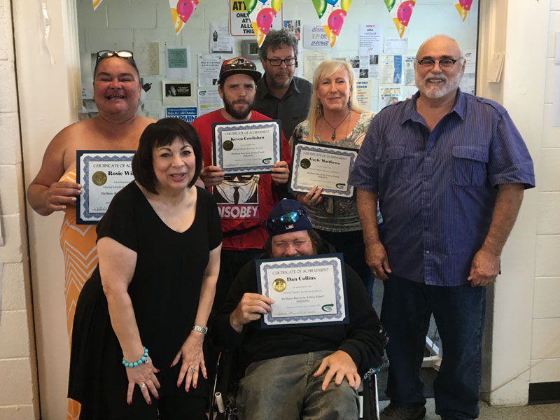 Graduates of Our WRAP Training
