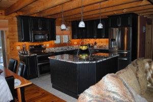 Log Cabin Kitchen Design
