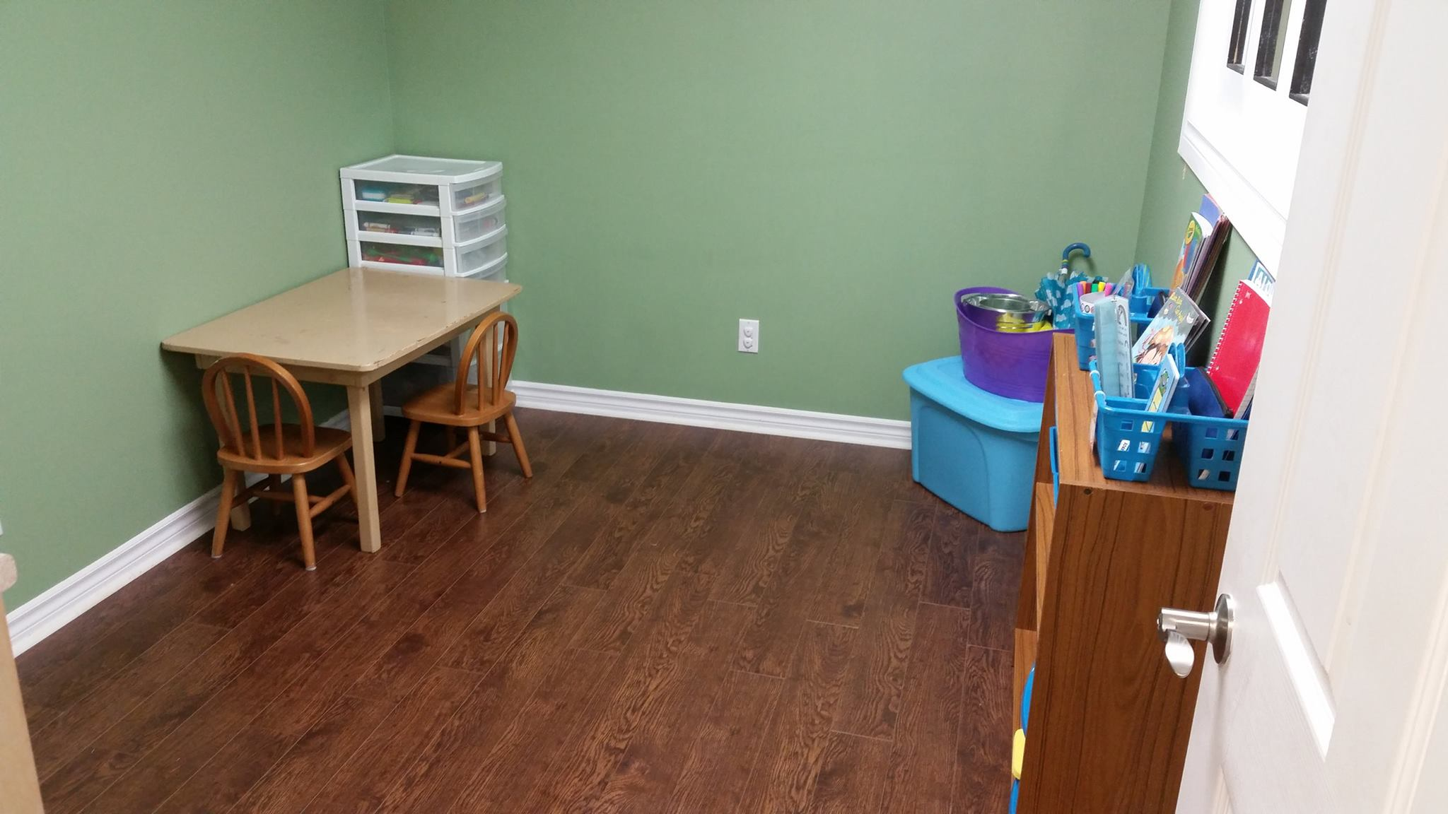 First Therapy Room.