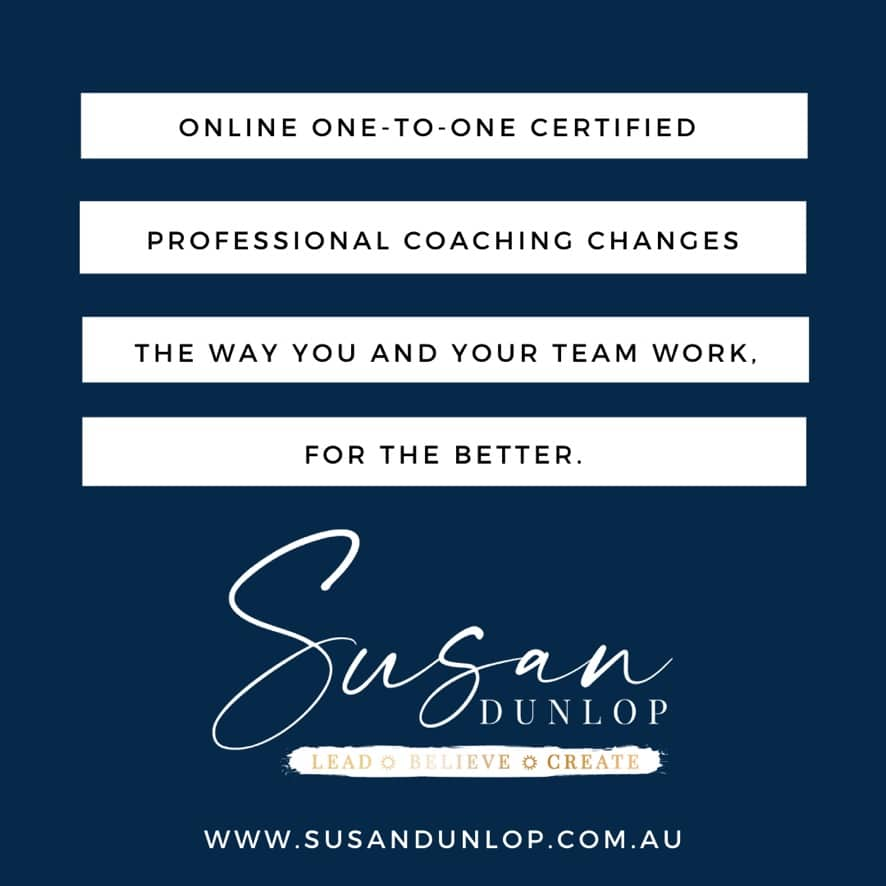 Online one-to-one coaching for you and your team