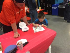 Coloring at SkyZone | My Crazy Beautiful Life