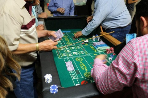 Everyone had a great time playing the tables at our 20th Annual Casino Night fundraiser.