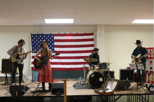 Alice Wallace gave an excellent performance at our 20th Annual Casino Night fundraiser.