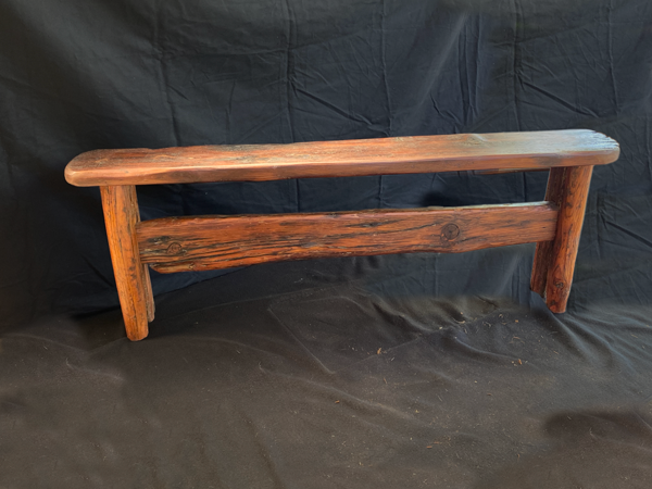 "Whale Bench Reclaimed Douglas Fir  54"" x 7.5"" x 19""h"
