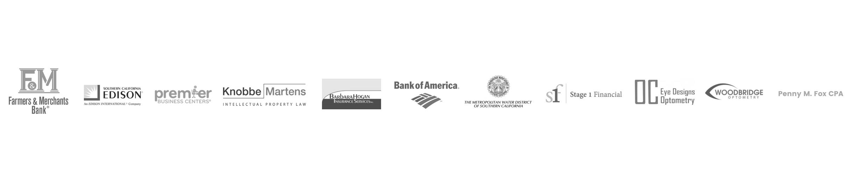 6.2018 Corporate Partner logo slide grayscale long homepage