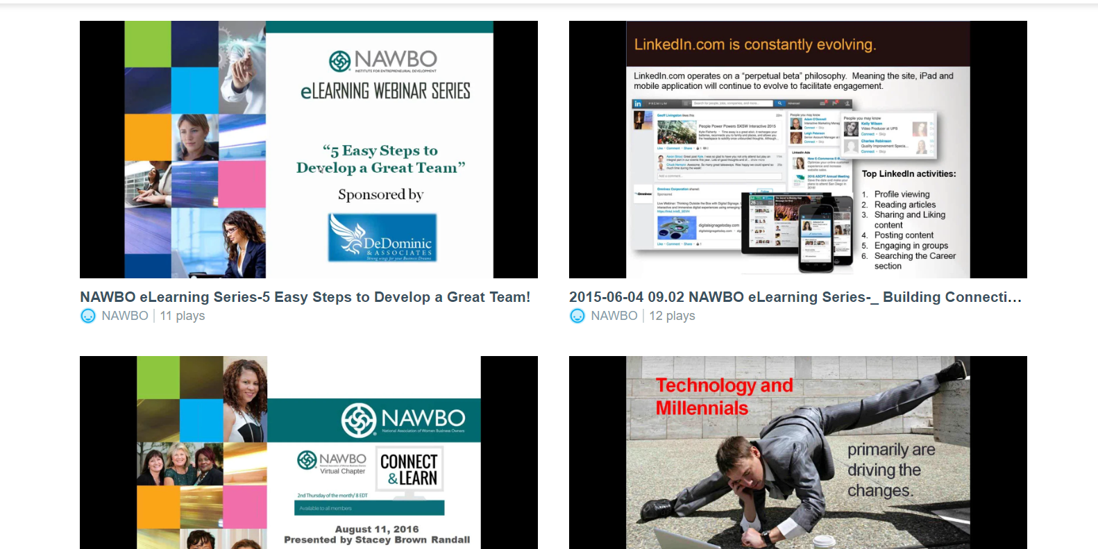 NAWBO eLearning on Vimeo