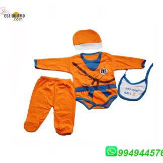 Ajuar de Dragón Ball para bebes bebe para compras llamar al 994944576