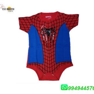 Ajuar Boddy de bebe Hombre araña bebes Comprar llamando al 994944576