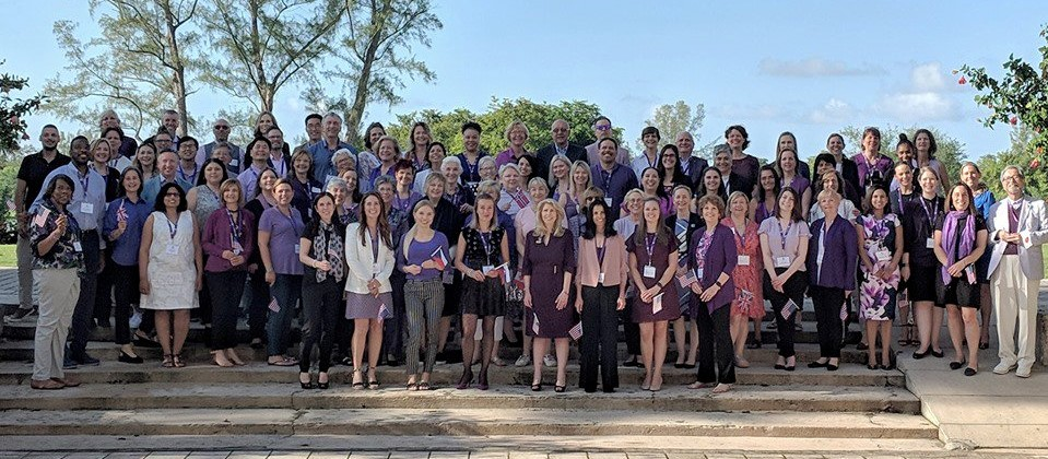 90 attendees at the 2018 WPCC meeting in Florida