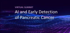 Title card for AI and Early Detection of Pancreatic Cancer Virtual Summit