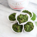 lactation muffins spinach