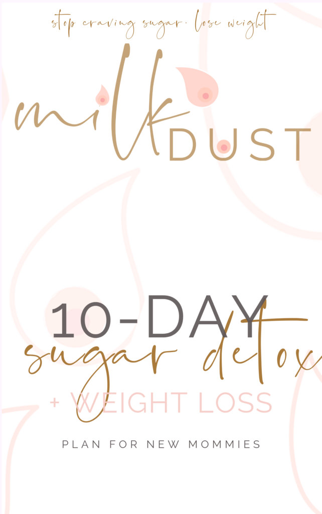sugar detox breastfeeding diet plan for new mommies