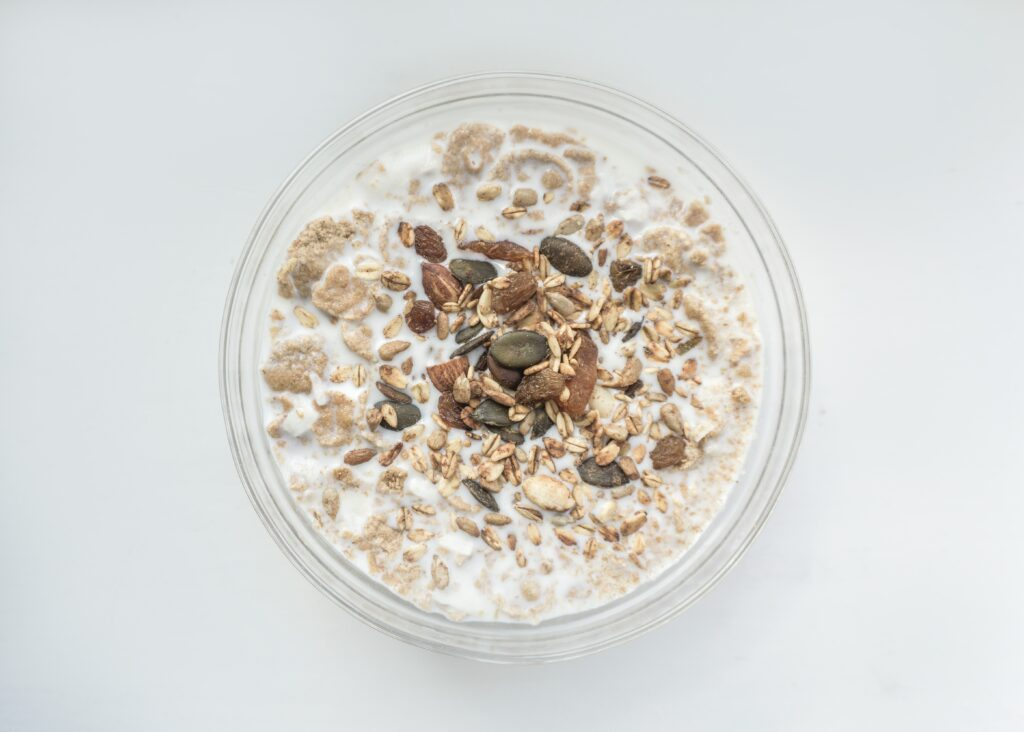 overnight oats breastfeeding snack