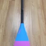Evolve 3k Carbon Tri Color SUP Paddle for sale
