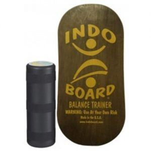 balance trainer, MAHOGANY rocker indo board, core training, exercise, strength training, endurance training