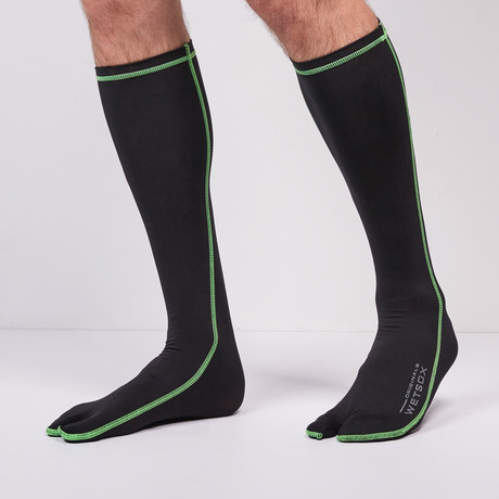 Wetsox therms and wetsocks for sale add an additional 1mm of insulation under your wetsuit and gear