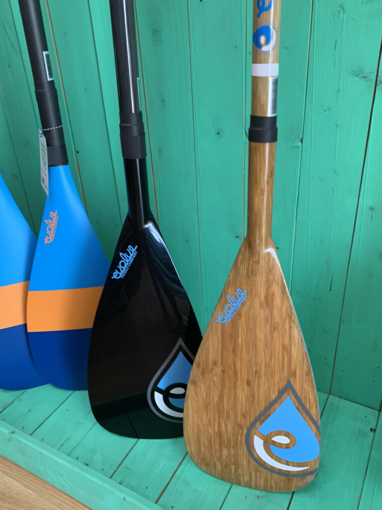 Evolve Paddleboards Bamboom paddle
