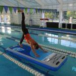 evolve inflatable fitness mat for sale