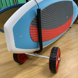 Adjustable paddle board cart on wheels for sale