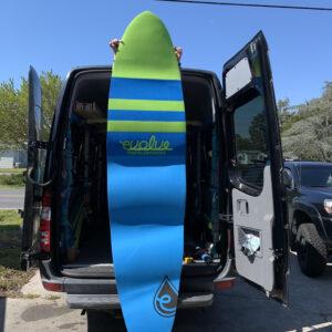 evolve paddle board Deck Padfor sale