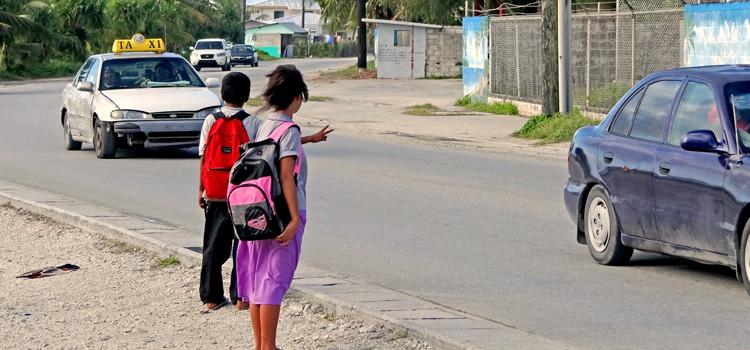 Lack of child protection program