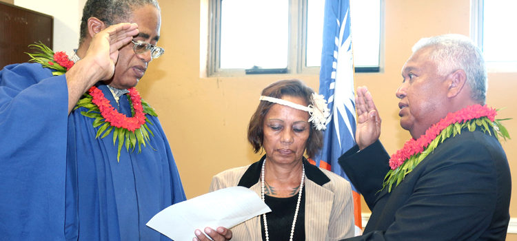 Gerald sworn in for DC duty