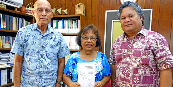 New Marshallese grammar book