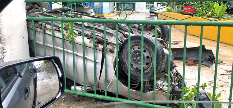 Weekend accidents in Majuro
