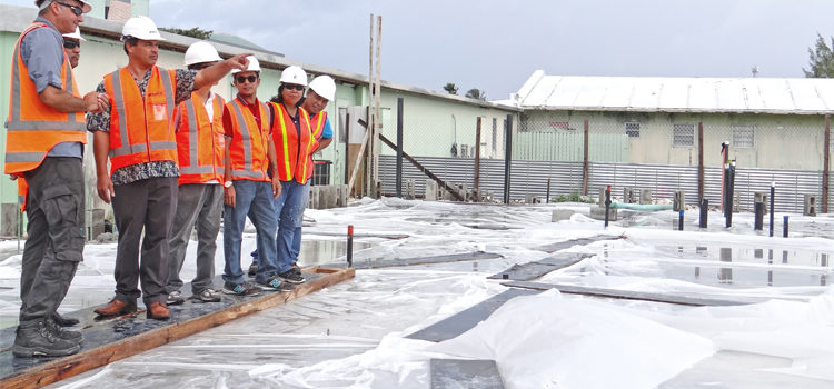 Milestone for Majuro's new hospital