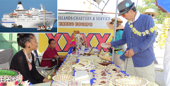 Japan cruise ship visits