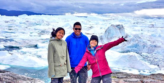 Island students taste Arctic life
