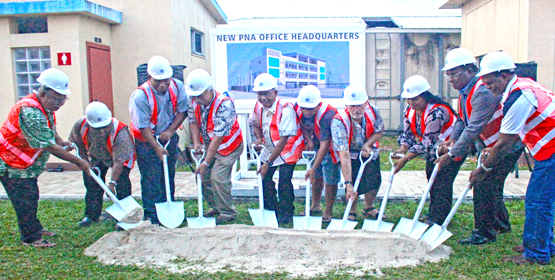 PNA groundbreaking ceremony