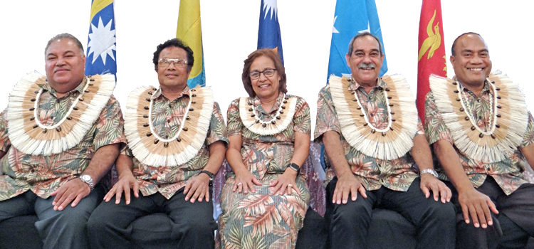 Summit debut for Kiribati, Nauru