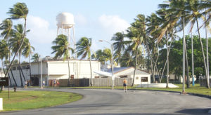 A US State Department official emphasized the strategic importance of the Pacific islands to the US in a media briefing. US interests in the region include operation of the Reagan Test Site at Kwajalein Atoll (pictured) in the Marshall Islands. Photo: Giff Johnson.