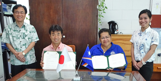 CMI, Ryukyus sign deal