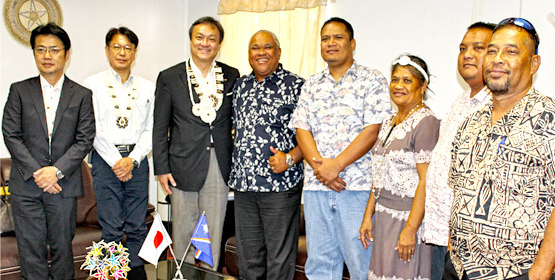 Majuro reconnects with Japan 'sister'