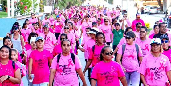Energized walk against cancer