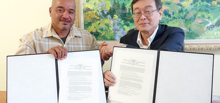 Japan backs Arno copra plan
