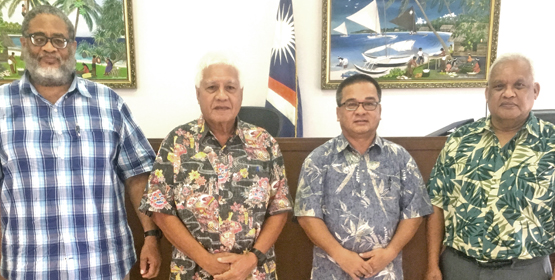 Judge Milton takes a break - The Marshall Islands Journal